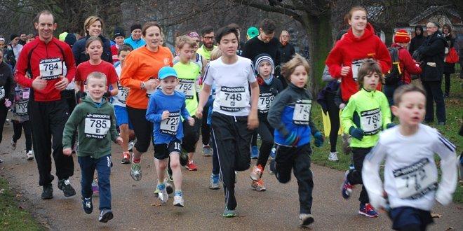 Brooks Serpentine New Year's Day 3K Fun Run